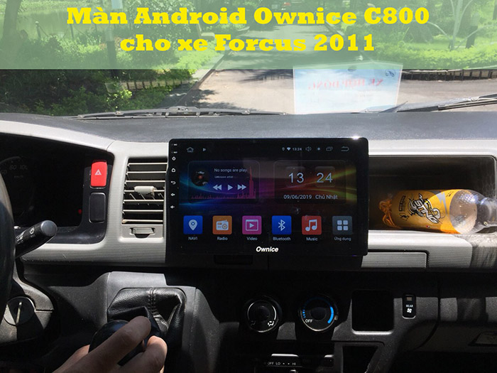 Màn Android Ownice C800 cho Forcus 2011