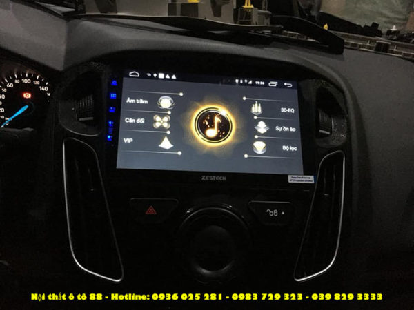 Man Zestech cho xe Ford Forcus 2019