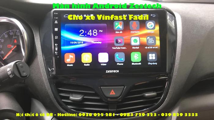 Màn hình Android Zestech cho xe Vinfast Fadil