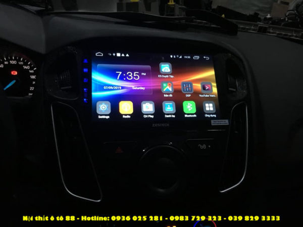 Man hinh Android Zestech Z800 cho xe Ford Forcus 2019