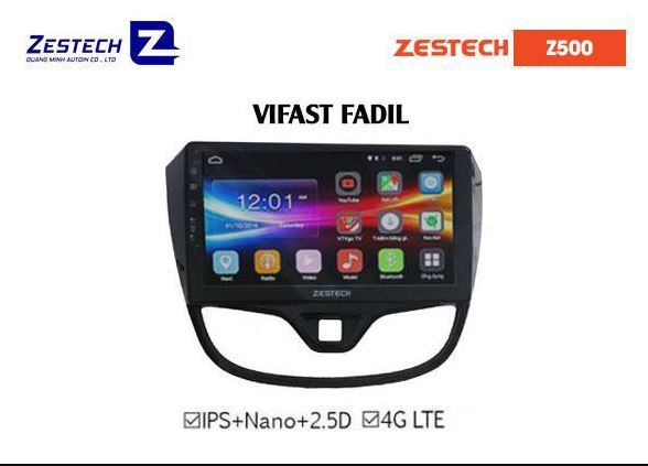 Man hinh Android Zestech cho xe Vinfast Fadil