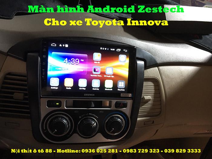 Màn hình Android Zestech Z500 cho xe Innova 2015