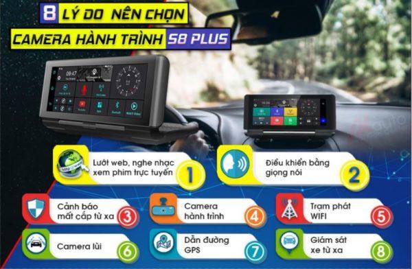 camera hanh trinh zestech s8 plus