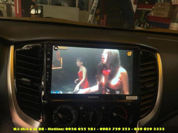 lap man zestech cho xe Mitsubishi Triton