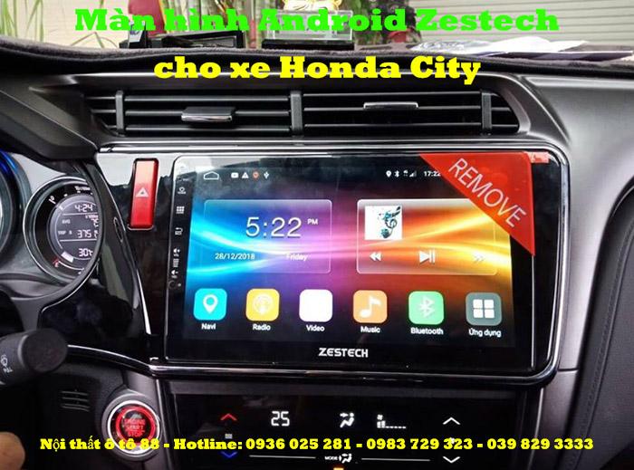 Màn hình Android Zestech Z500 cho xe Honda City