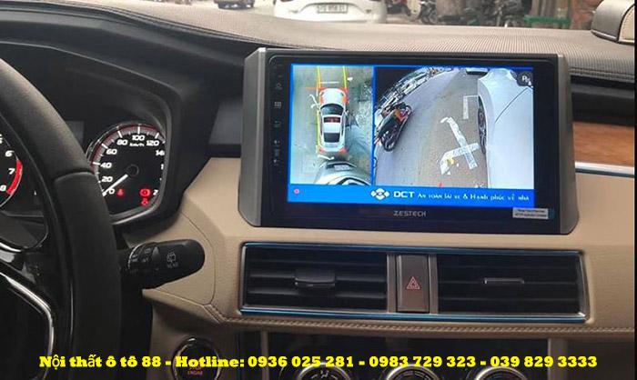 Camera 360 DCT cho xe Mishubishi Xpander 2019