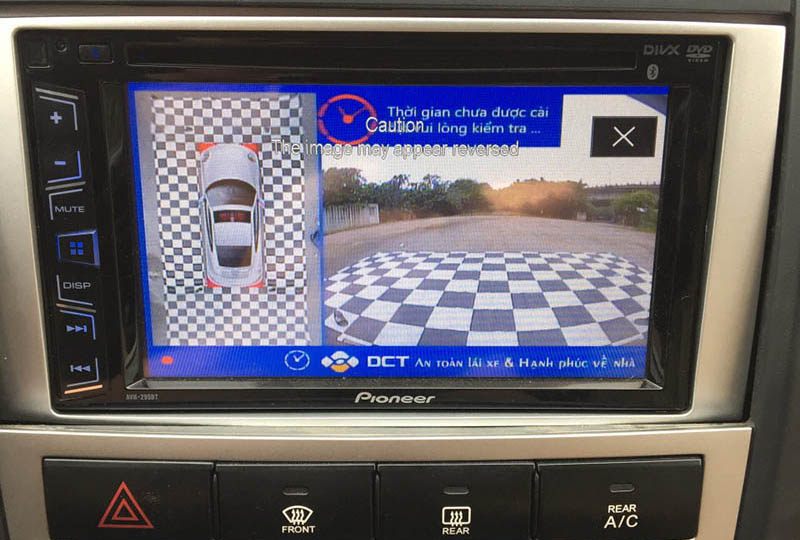 Camera 360 DCT bản T1 cho xe Santafe 2008